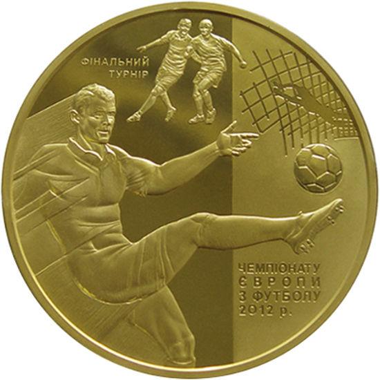 """Picture of Пам'ятна монета """"Фінальний турнір чемпіонату Європи з футболу 2012 р. """""""