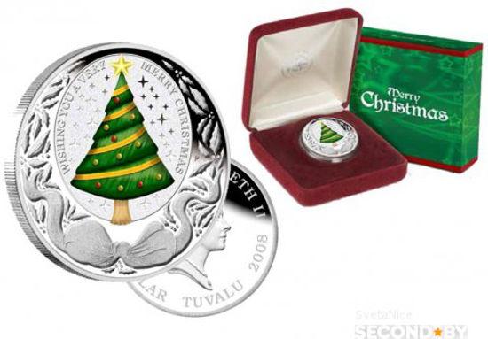 Picture of Монета Рождественская елка