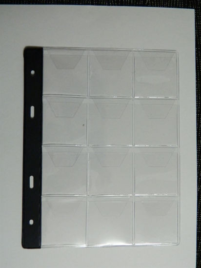 """Picture of Файли для альбомів на монети тип """"12"""" Арт. 1035"""