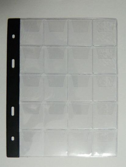 """Picture of Файли для альбомів на монети тип """"20"""" Арт. 1036"""