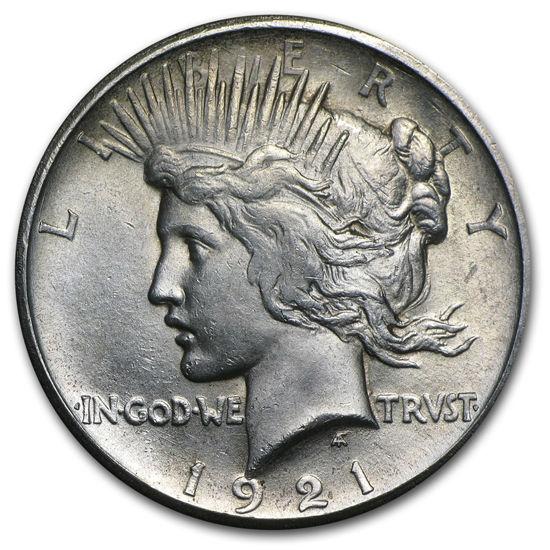 Picture of 1 $ мирний долар США. PEACE DOLLARS (1921 - 1935)