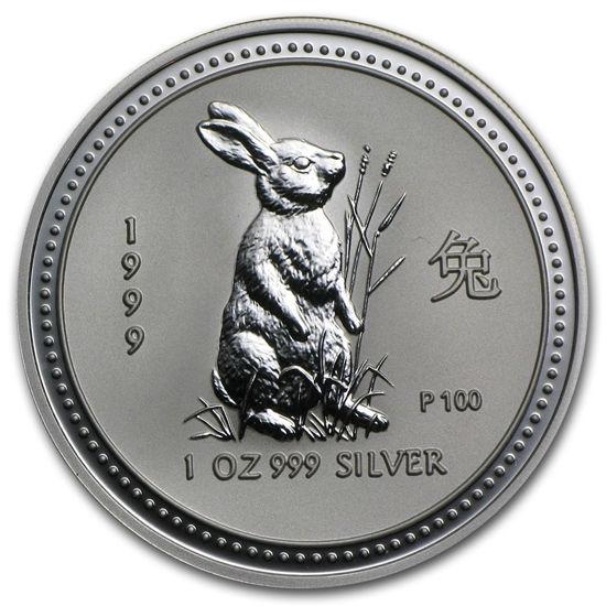 "Picture of Срібна монета ""Рік Кролика"" Lunar 1 Series, 1 долар"