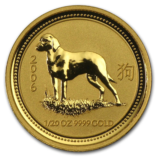 "Picture of Золота монета ""Рік Собаки"" Lunar 1 Series, 5 доларів"