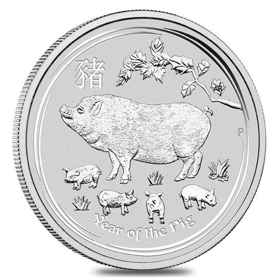 """Picture of Срібна монета """"Рік Свині"""" Lunar II, 15,5 грам, Австралія"""