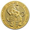 Picture of Серія Звірі Королеви Золото, Лев Англії 7.78 грам, I / X The Lion of England, Великобританія 2016