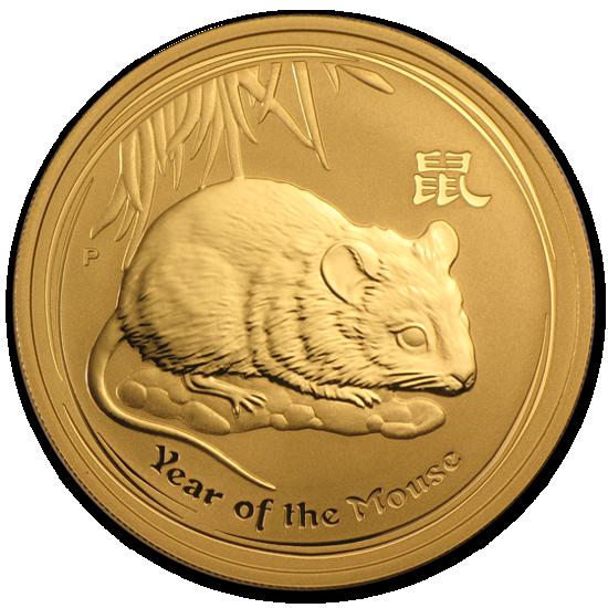 "Picture of Золота монета ""Рік Щура"" Lunar 2 Series, 50 доларів"