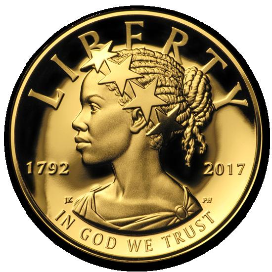 Picture of «Леди Либерти» в высоком рельефе США