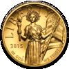 Picture of «Леди Либерти» в высоком рельефе 2015 США