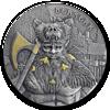 Picture of Воїни Німеччини срібний раунд 62,2 грам 2019 р старовини (Берсерк)
