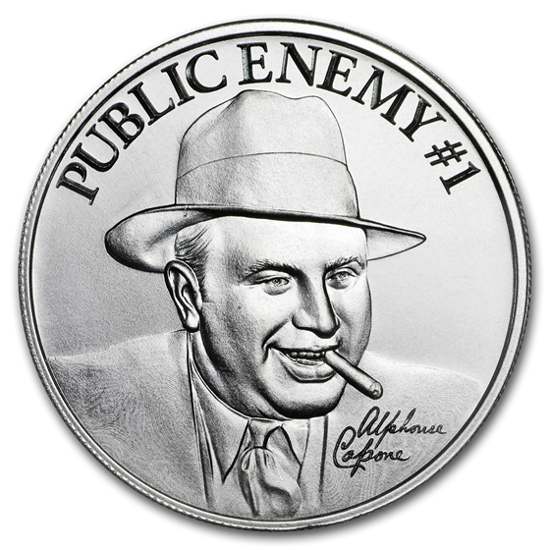 Picture of Серебряный раунд  Аль Капоне «Враг народа № 1»