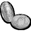 """Picture of  Срібна монета """"Аполло 11 50-річний ювілей"""" 2019"""