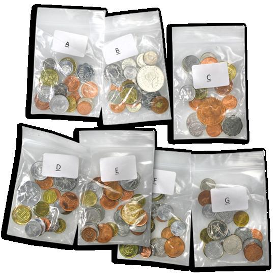 Picture of Мировой набор 100 монет из разных стран и эпох