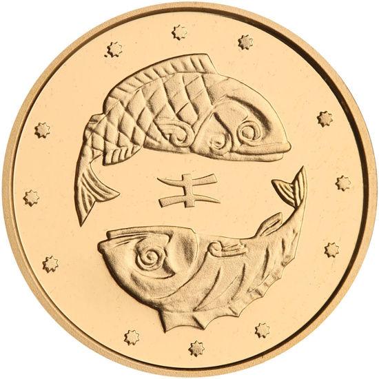 """Picture of Памятная монета """"Рыбы"""""""