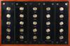 """Picture of Подарочный набор из 25-ти золотых монет """"Панда"""""""