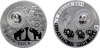 "Picture of Срібна монета СЛОНИК серії «Монети на щастя» ""GOOD LUCK"""