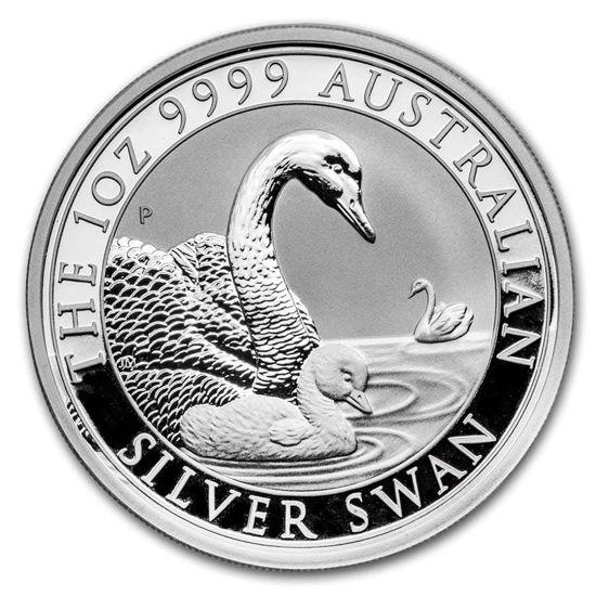 Picture of Серия монет Австралии «Лебеди»  2019