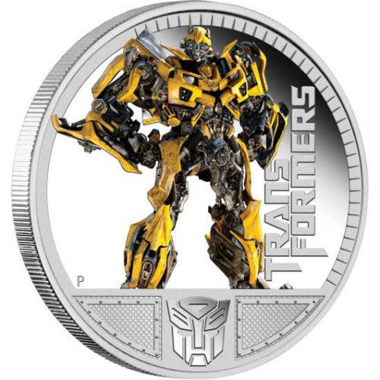 """Picture of Срібна монета """"Трансформери - Бамблі"""" 1 унція"""