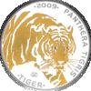"Picture of Серебряная монета Тигр ""PANTHERA TIGRIS"" 31.1 грамм, 2009"