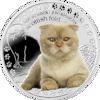 """Picture of Срібна монета """"Скоттіш фолд"""" серія Кращі друзі людини - кішки"""
