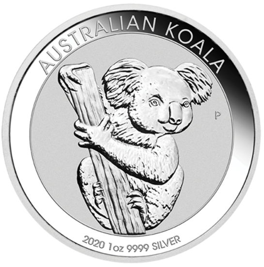 "Picture of Серебряная монета ""Коала"" 2020  1 унция"
