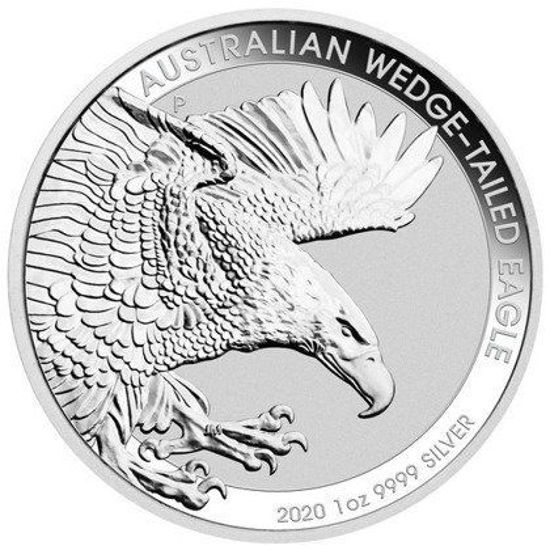 Picture of Серебряная монета «Австралийский орёл» 2020  1 унция