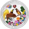 """Picture of Срібна монета """"Любов дорогоцінна - Птахи раю"""" 1 унція"""