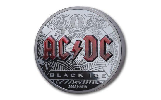 "Picture of Срібна монета ""AC DC Black Ice ""  2 унції"