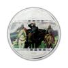 """Picture of Срібна монета """"Три богатиря - Васнєцов"""" серії Шедеври мистецтва 2010 рік 20$ Острова Кука"""