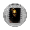 """Picture of Серебряная монета """"Мужчина в золотом шлеме  - Рембрандт"""" серии Шедевры искусства 2010 год 20$ Острова Кука"""