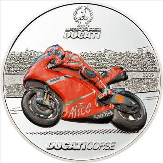 """Picture of Мотоцикл Дукати """"DUCATI CASEY STONER"""", Палау 2009 г."""