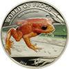 """Picture of Срібна монета """"Помаранчева жаба"""" серія Світ Жаб 15,5 грам, Палау 2014 р"""
