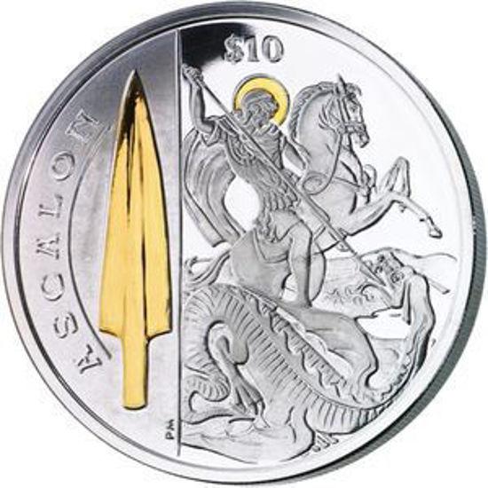 """Picture of Срібна монета """"Спис Святого Георгія- Аскалон"""", 28.28 грам"""