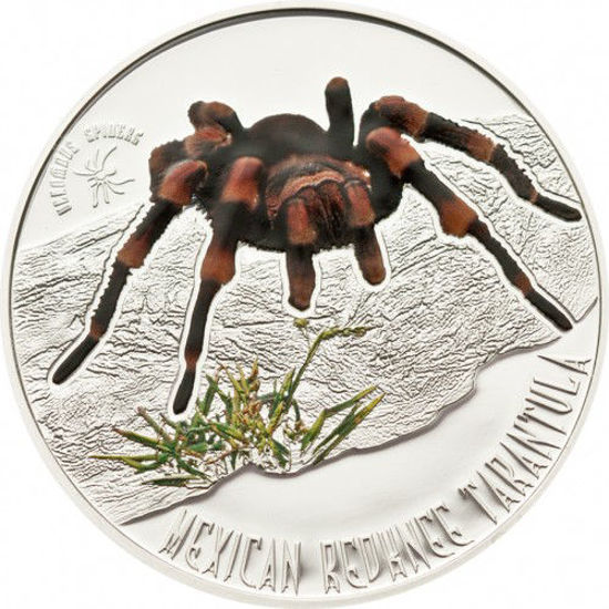 """Picture of Срібна монета """"Мексиканський  Тарантул"""" серії Отруйні павуки 15,55 грам"""
