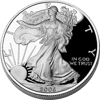 Picture of 1$ долар США Американський Срібний Орел Liberty  Proof