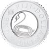"""Picture of Срібна монета """"Рік Змії"""" 20,5 грам 2013 р."""