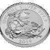 """Picture of Серебряная монета """"Святой Георгий и дракон"""" 311 грамм, Велокобритания 2019"""