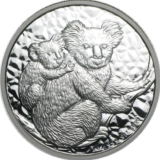 "Picture of Серебряная монета ""Коала"" 311 грамм, 2008"
