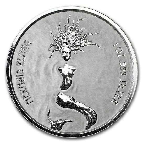"Picture of Срібна монета ""Русалка"" 31,1 грам, 2018 р."