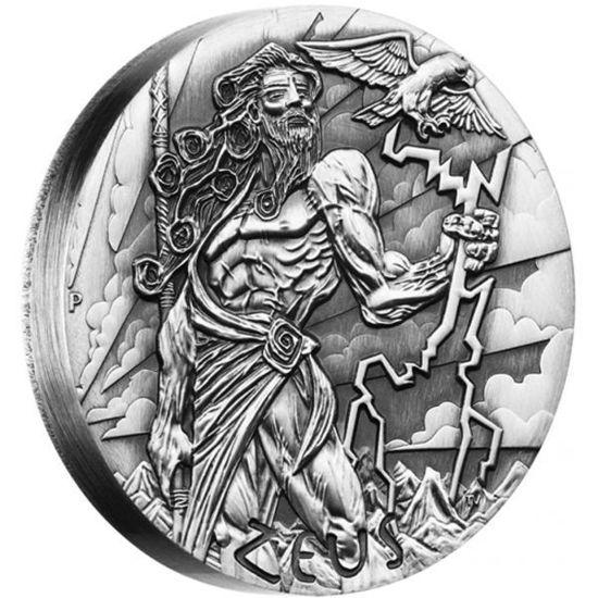 "Picture of Срібна монета ""Зевс - Боги Олімпу"" 62.2 грам 2014 р."