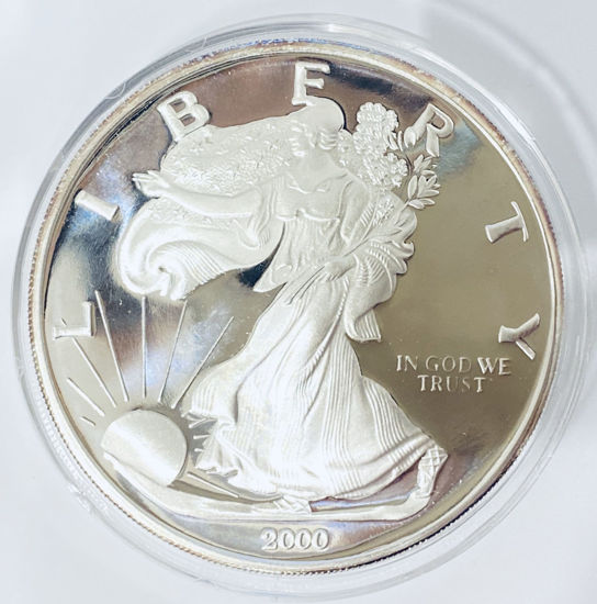 Picture of Американський Срібний Орел Liberty 375 грам 2000 р.