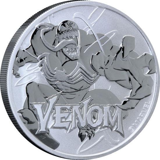Picture of Серебряная монета Марвел «Веном» 2020 (Marvel's Venom)
