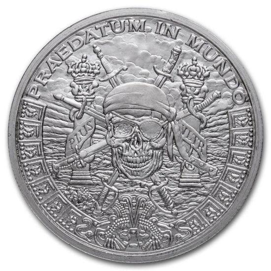 """Picture of Срібний раунд Хижий світ Пірат """"Praedatum In Mundo"""" 31,1 грам"""