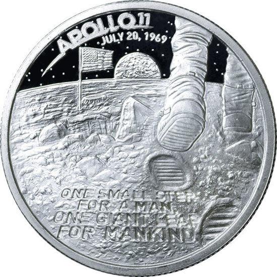 Picture of Серебряный раунд  «Аполло 11»  31,1 грамм