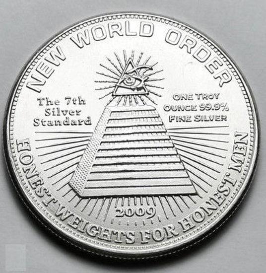 Picture of Срібний раунд «Новий світовий порядок» 31,1 грам