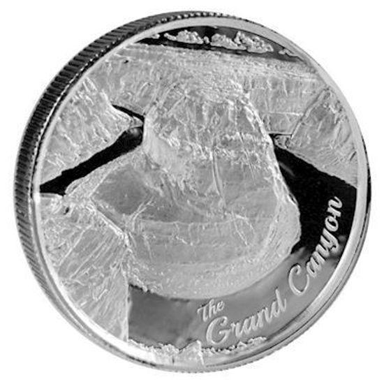 "Picture of Срібний раунд ""Гранд Каньйон - Гранд Каньйон"" 62.2 грам"