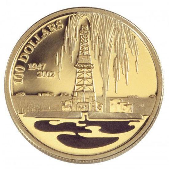 "Picture of Золотая монета ""Нефтяная промышленность Канады"""