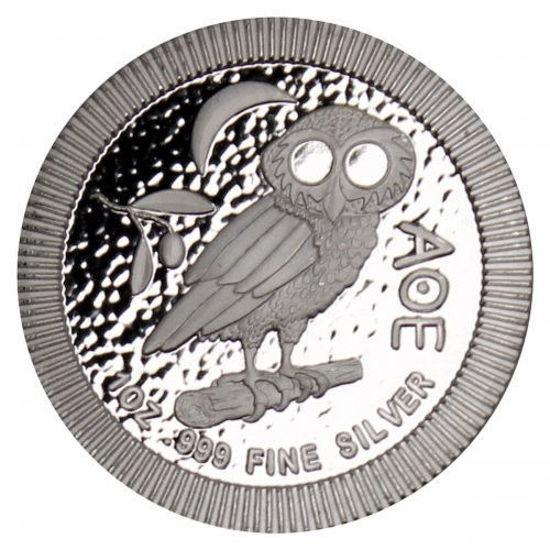 "Picture of Серебряная монета ""Афинская сова"" 31.1 грамм, Ниуэ"