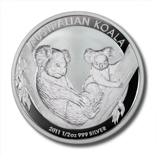 """Picture of Срібна монета """"Коала"""" 2011 15,5 грам"""