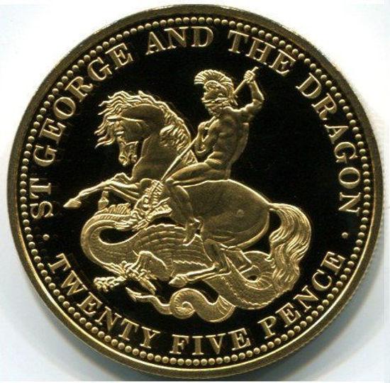 """Picture of Золотая монета """"Святой Георгий и дракон"""""""