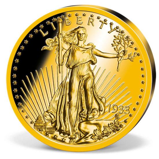 "Picture of Репліка ""Золотий орел - Liberty"" 1933 року"